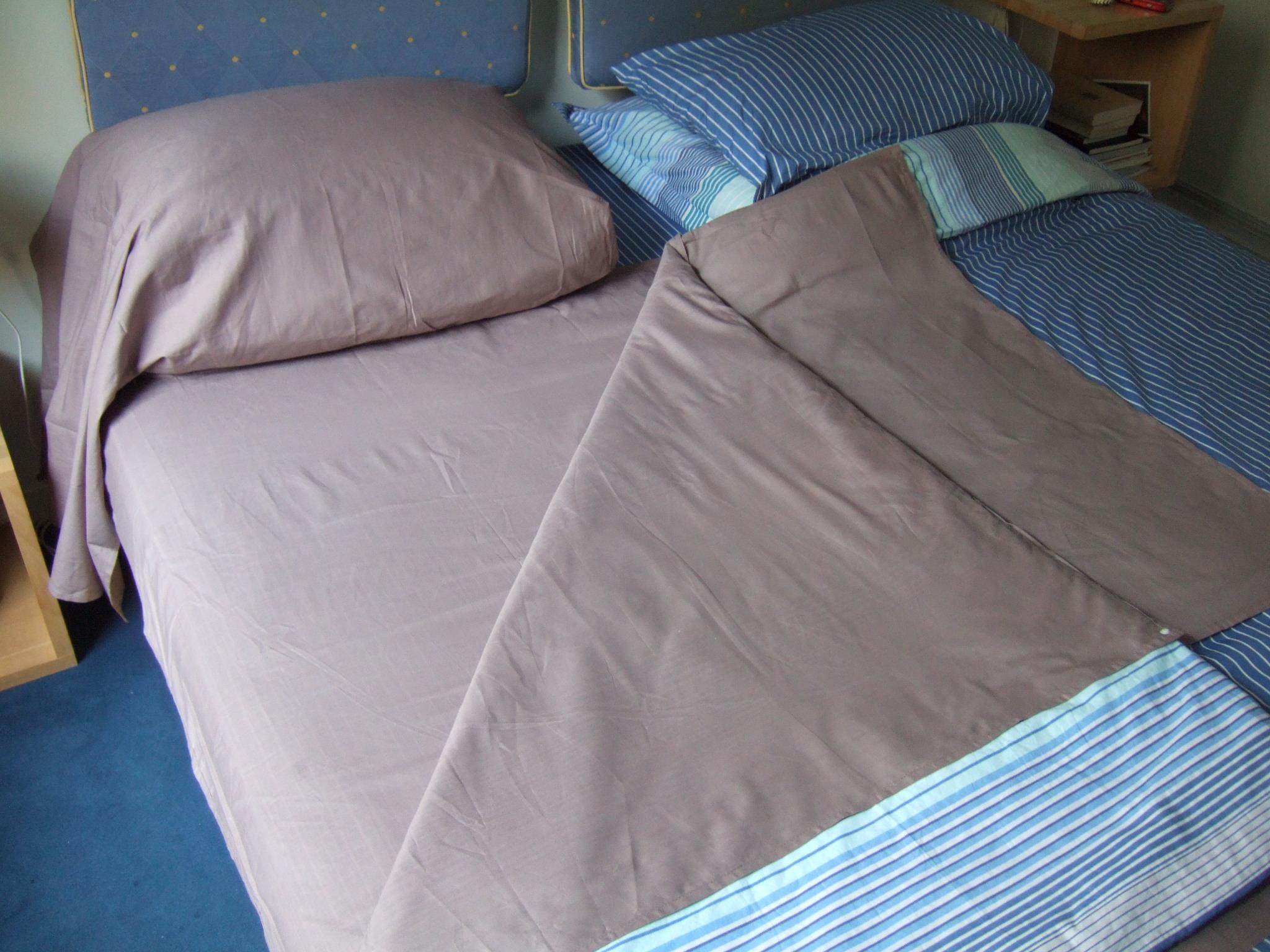 XL Terre en place dans lit ouvert