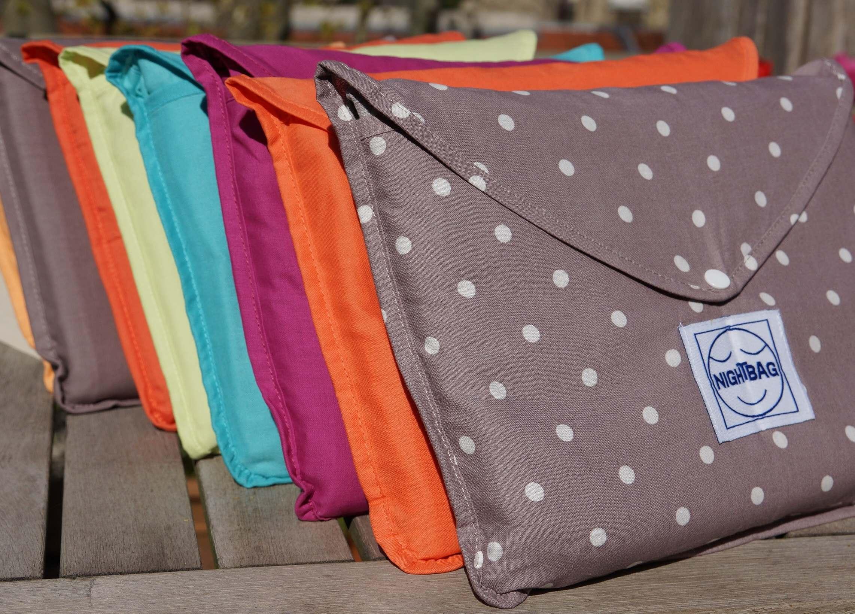 Nightbag gamme Classique colori flocons 1er plan jpeg