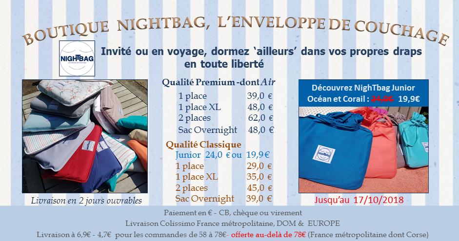 boutique nightbag 9 10 2018 promo RP Junior