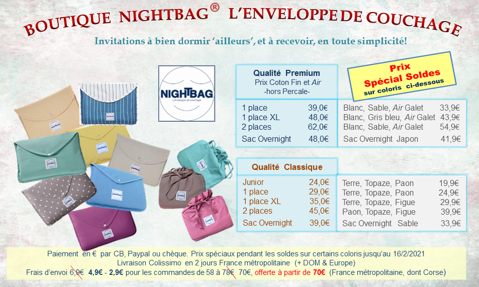 boutique nightbag 23 2 Soldes 2021