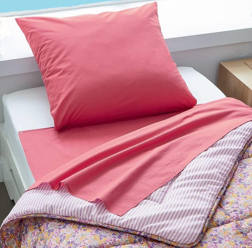 nightbag classique bois de rose en place lit 1 personne