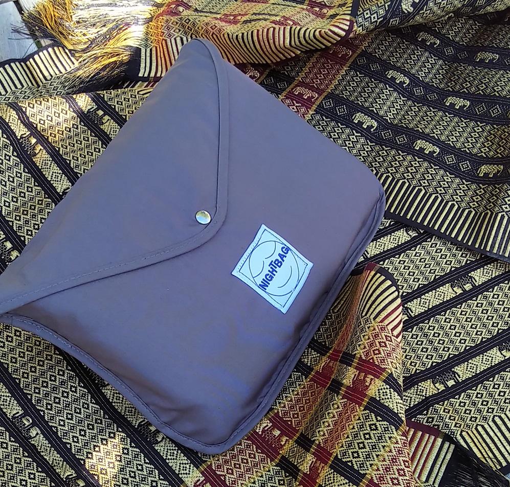 nightbag premium percale gris ardoise