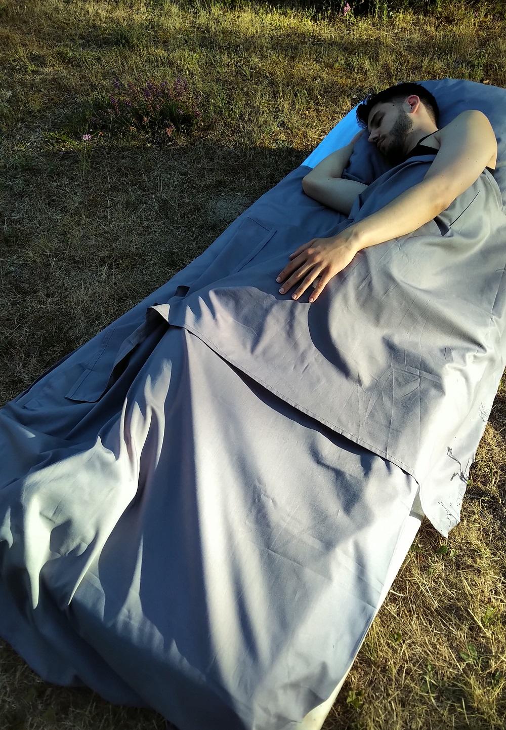 domeur dans nightbag XL classique Etain