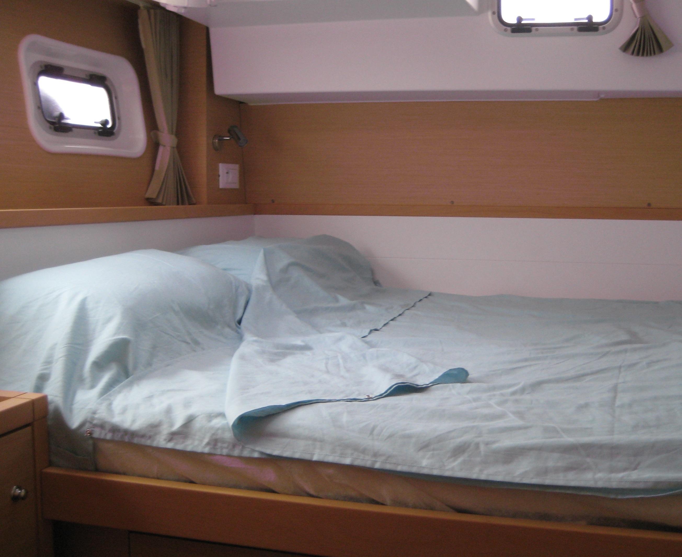 Duo Premium Celadon couchette cabine voilier