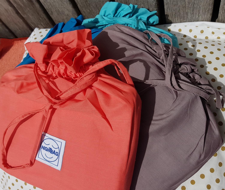 nightbag junior clair corail et terre